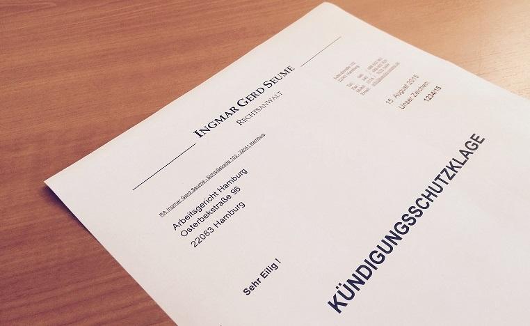 Kündigungsschutz Rechtde Rechtsanwalt Für Arbeitsrecht Hamburg